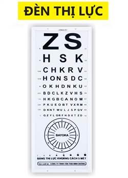 Đèn kiểm tra thị lực Bayoka